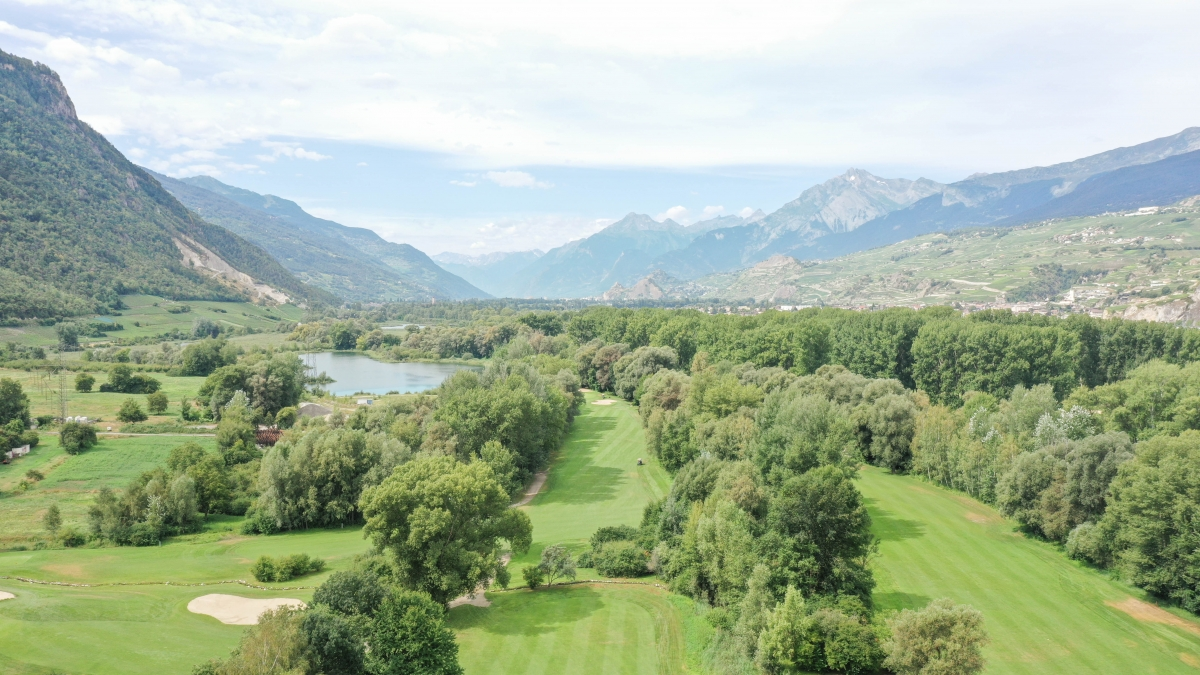 drone sierre podcast golf